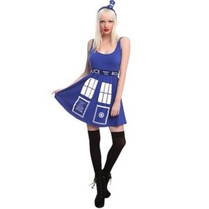 Doctor Who Her Universe' Tardis dress